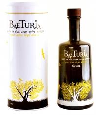 Huile d'olive vierge extra biologique Mauresque Baeturia + étui