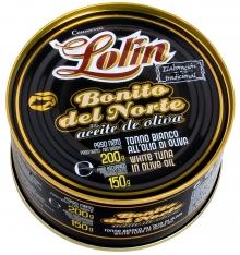 Bonite du nord à l'huile d'olive Lolin