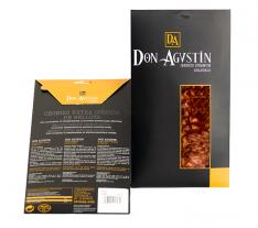 Chorizo ibérique nourri de glands Don Agustin en tranche coupé à la main