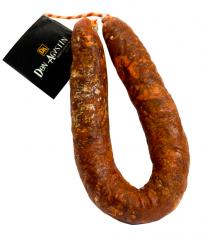 Saucisse de Chorizo (Sarta) Extra Ibérique Naturelle Bellota, Qualité Supérieure Don Agustin
