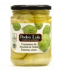 Coeurs d'artichauts de Tuela entiers D.O. Pedro Luis