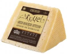Quartier de fromage Manchego D.O. demi-affiné moyen Carpuela