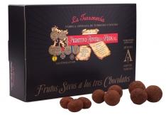 Fruits secs aux trois chocolats Turrones Primitivo