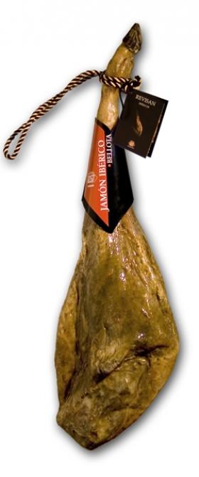 Jambon pata negra ibérique nourri de glands certifié Revisan