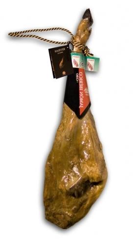 Jambon pata negra ibérique nourri en pâturages Guijuelo Revisan
