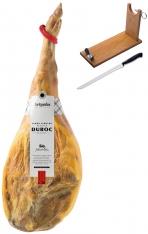 Jambon serrano espagnol duroc réserve Artysán entier + porte jambon + couteau