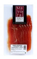 Jambon serrano espagnol Mayoral tranché