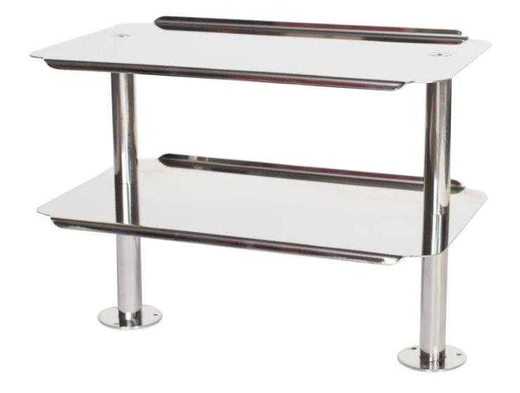 Table d couper 600x1200mm 2 support jambon plateau - Table a decouper ...