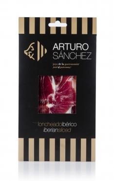 Jambon pata negra ibérique (Épaule) nourri au grain tranché Arturo Sánchez