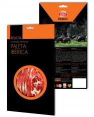Jambon pata negra ibérique (Épaule) nourri de glands tranché Revisan