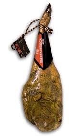 Jambon pata negra ibérique (Épaule) entier nourri en pâturages certifiée Revisan