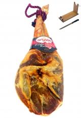 Jambon serrano espagnol (Épaule) réserve duroc Artysán semi désossé + porte jambon + couteau