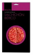 Saucisson ibérique nourri de glands tranché Revisan