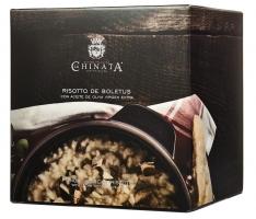 Risotto aux champignons La Chinata