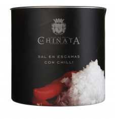Sel de mer en flocons piment La Chinata