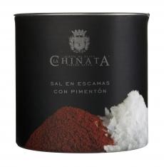 Sel de mer en flocons paprika La Chinata