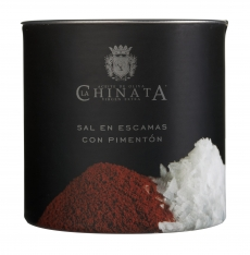 Sel de mer en flocons poivron La Chinata