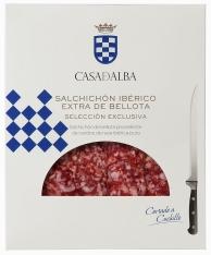 Saucisson ibérique nourri aux glands et coupé à la main Casa de Alba