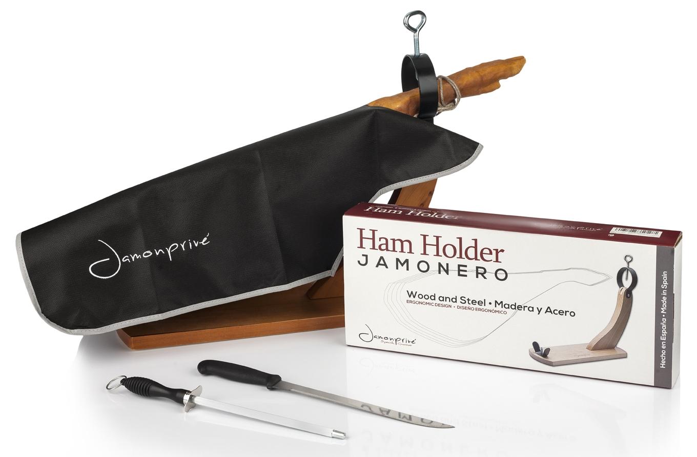 support jambon espagne couteau fusil aiguiser couvre jambon torchon pinces. Black Bedroom Furniture Sets. Home Design Ideas