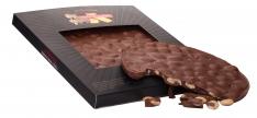 Tarte au chocolat et aux amandes Turrones Primitivo