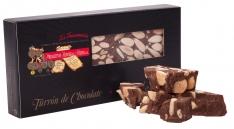 Nougat Turrón au chocolat