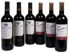 Vins D.O. Ca Rioja spécial Noël